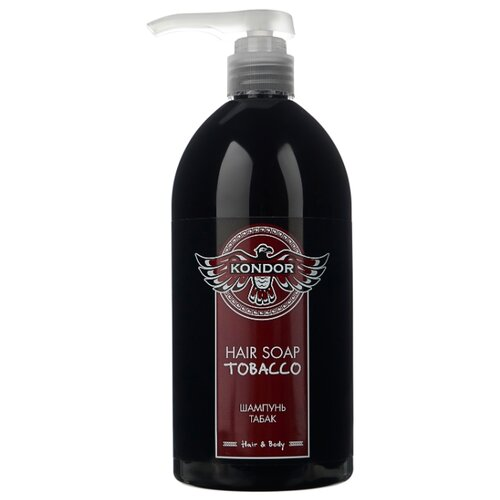 Kondor шампунь Hair&Body Табак 750 мл с дозаторомШампуни<br>
