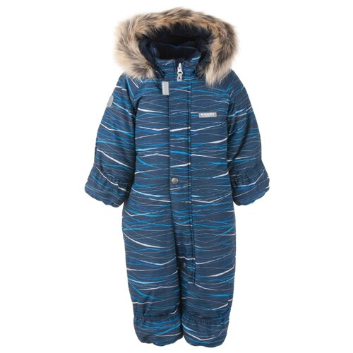 Купить Комбинезон KERRY ZOO K20406 размер 86, 02290 синяя полоска, Теплые комбинезоны