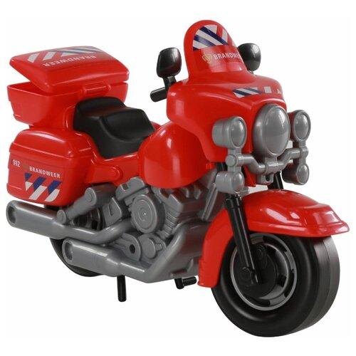 Купить Мотоцикл Полесье 71316 27.5 см красный, Машинки и техника
