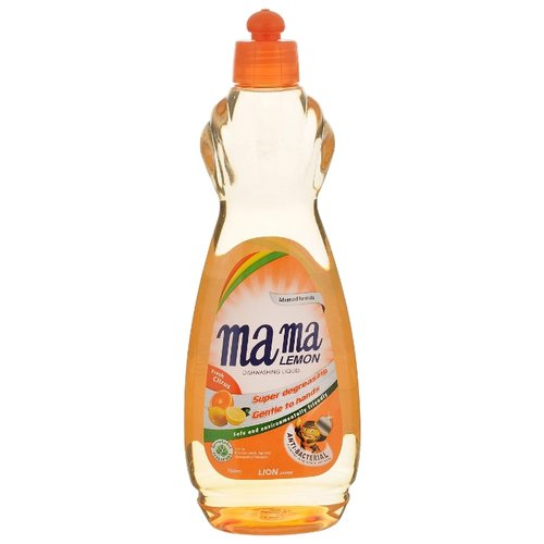Mama Lemon Жидкость для мытья посуды Fresh citrus 0.75 лДля мытья посуды<br>