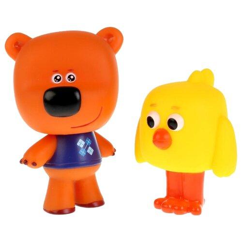 Купить Набор для ванной Играем вместе Мимимишки Цыпа и Кеша (LX-M307) желтый/оранжевый, Игрушки для ванной