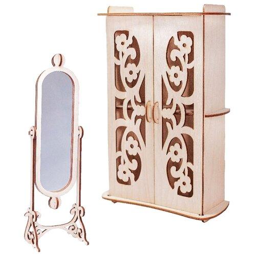 Сборная модель Большой слон набор мебели Гардеробная Мечта (М-010)Сборные модели<br>