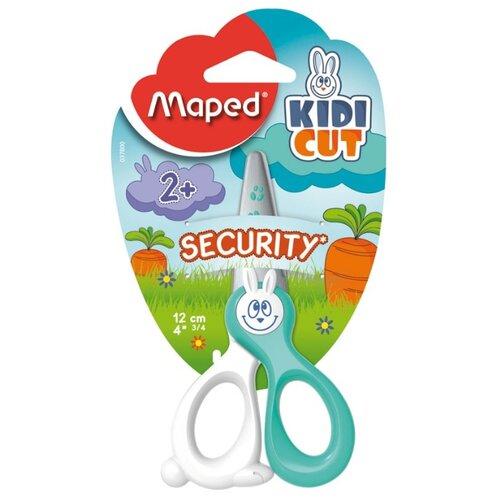 Maped ножницы детские KidiCut белый/бирюзовый