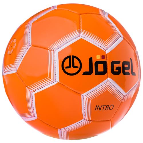 Футбольный мяч Jögel JS-100 Intro оранжевый 5