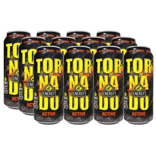 Энергетический напиток Tornado Energy Active, 0.45 л, 12 шт.