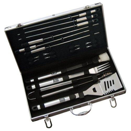 Набор для барбекю Green Glade SC007 (18 предметов)Инструменты для приготовления барбекю<br>