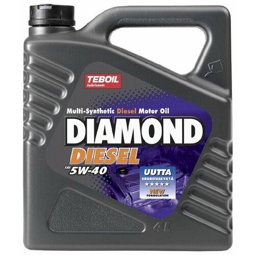 Моторное масло Teboil Diamond Diesel 5W-40 4 л фото