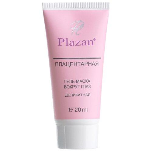 Plazan Плацентарная гель-маска для кожи вокруг глаз Деликатная 20 мл