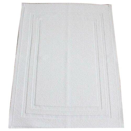 Декоративный коврик Luxberry универсальный, размер: 0.75х0.55 м, белый