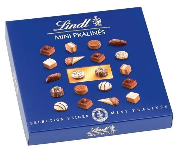 Набор конфет Lindt Mini Pralines 100 г