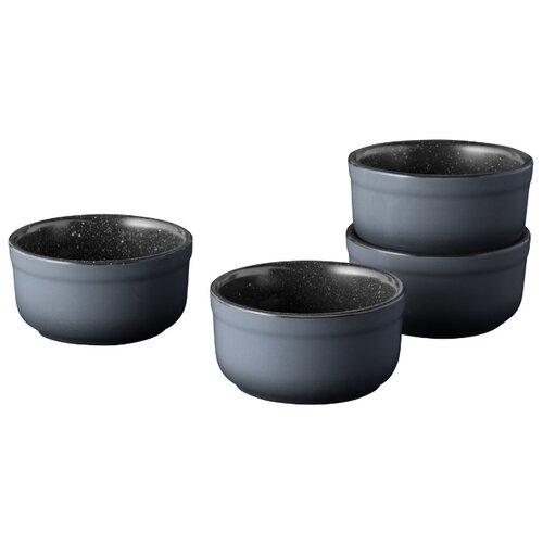 Форма для запекания керамическая BergHOFF 1697006, 4 шт. (9х4.5 см) форма для запекания керамическая attribute verde abk102 30х20х6 5 см