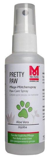 Спрей MOSER защитный для ухода за подушечками лап для собак и кошек 75 мл