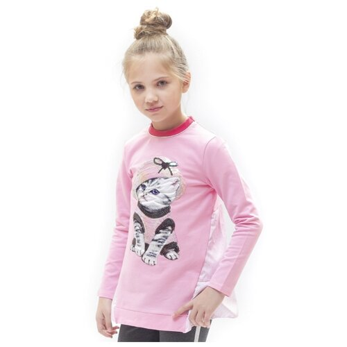 Купить Туника Nota Bene размер 122, розовый, Футболки и майки