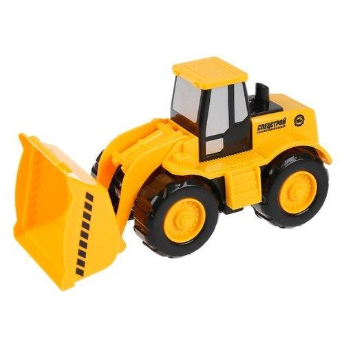 Купить Погрузчик ТЕХНОПАРК 1811A047-R 18 см желтый/черный, Машинки и техника