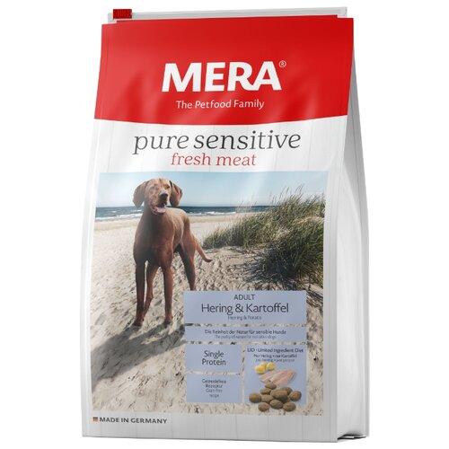 Корм для собак Mera (12.5 кг) Pure Sensitive Fresh Meat с сельдью и картофелем для взрослых собак