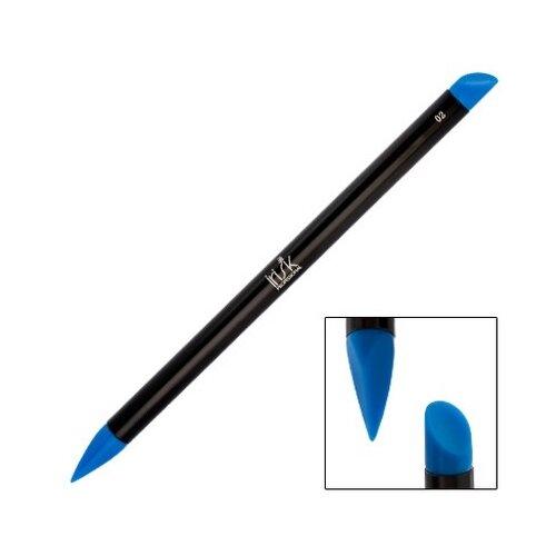 Irisk Professional Кисть Nail Sculptor, скошенный овал/скошенное перо синий