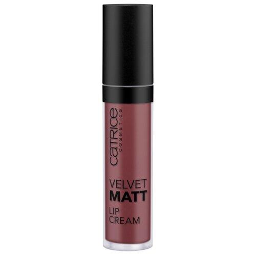 CATRICE Кремовая губная помада Velvet Matt Lip Cream, оттенок 090 Sweet Choco-Nut темно-терракотовый