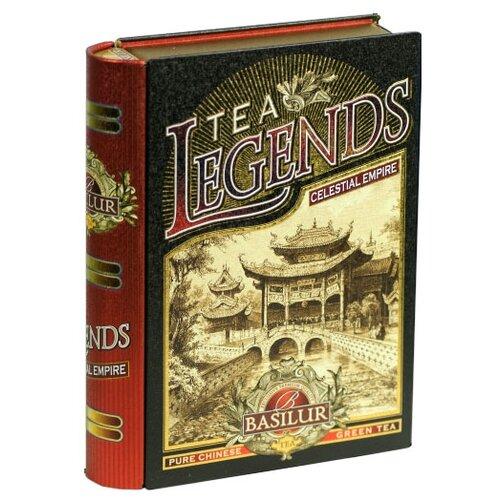 Чай зеленый Basilur Tea legends Celestial empire подарочный набор, 100 г