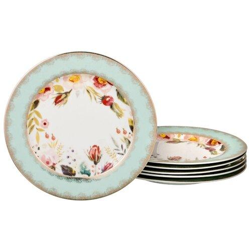 Набор десертных тарелок из 6 шт 20 см Lefard (113946)