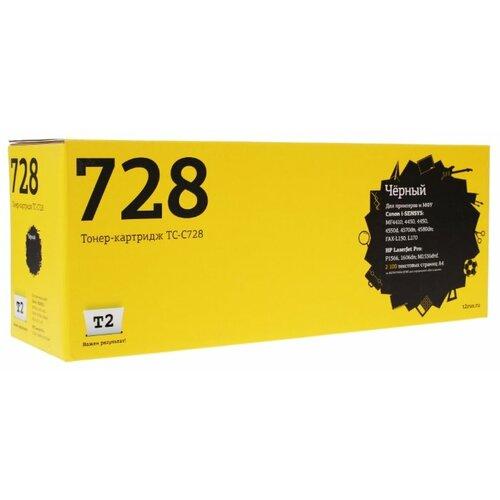 Фото - Картридж T2 TC-C728, совместимый картридж t2 tc h272 совместимый