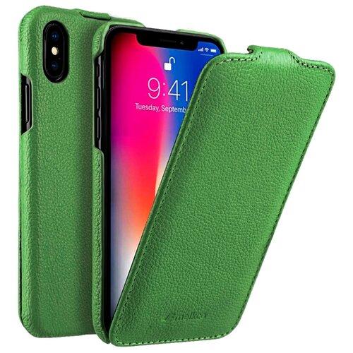 Купить Чехол Melkco Jacka Type для Apple iPhone X/Xs зеленый