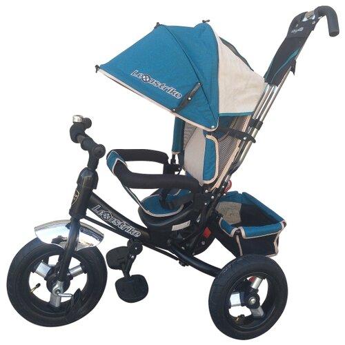 Купить Трехколесный велосипед Shantou City Daxiang Plastic Toys Lexus Trike 950-N1210-TXT бирюзовый, Трехколесные велосипеды