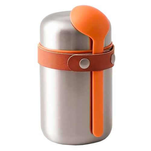 Термос для еды black + blum Box Appetit Food Flask, 0.4 л orange