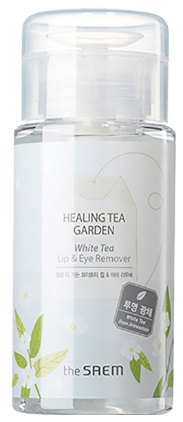 The Saem жидкость для снятия макияжа с глаз и губ Healing Tea Garden