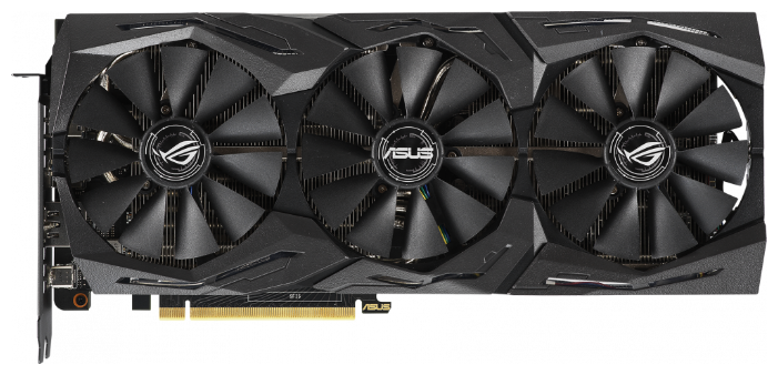 ASUS Видеокарта ASUS GeForce RTX 2070 1410MHz PCI-E 3.0 8192MB 14000MHz 256 bit 2xHDMI HDCP Strix Advanced Gaming