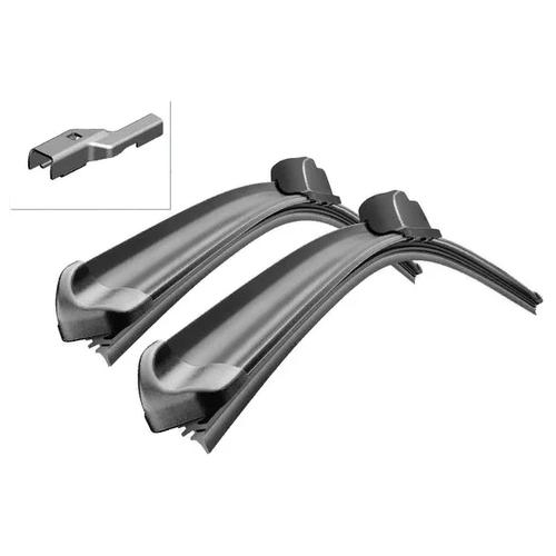 Щетка стеклоочистителя бескаркасная Bosch Aerotwin A225S 650 мм / 530 мм, 2 шт. щетка стеклоочистителя бескаркасная bosch aerotwin ar26u 650 мм 1 шт