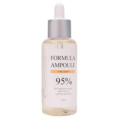 Esthetic House Formula Ampoule Collagen Сыворотка для лица, 80 мл esthetic house formula ampoule ac tea tree сыворотка для лица 80 мл