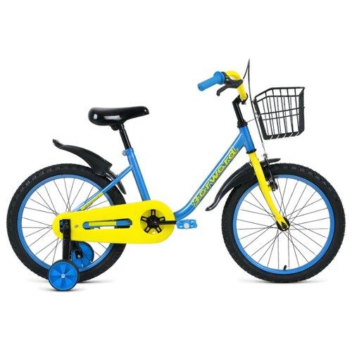 Детский велосипед FORWARD Barrio 18 (2020) синий (требует финальной сборки) el barrio úbeda