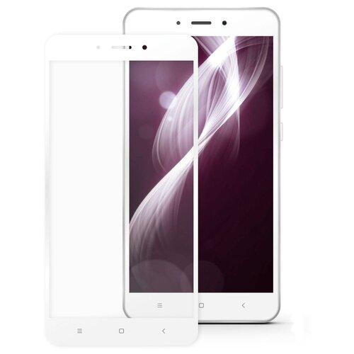 Купить Защитное стекло Mobius 3D Full Cover Premium Tempered Glass для Xiaomi Redmi Note 4X белый