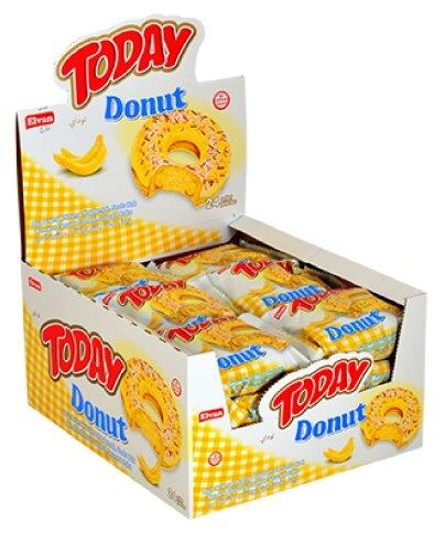 Пончик «Today Donut banana» 50 гр