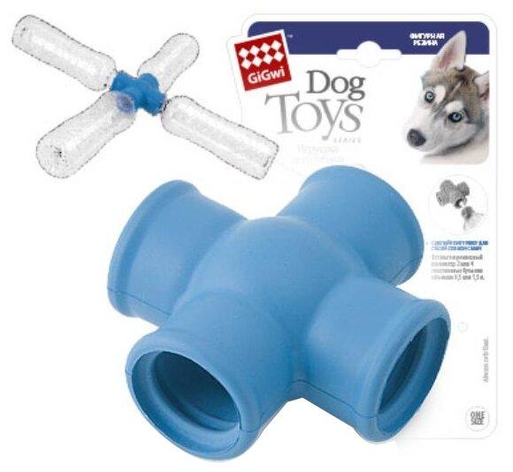 Игрушка для собак GiGwi Dog Toys насадка фиксатор для пластиковых бутылок (75275)