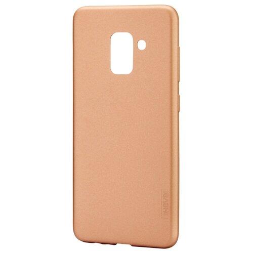 Чехол X-LEVEL Guardian для Samsung A8 2018 золотой