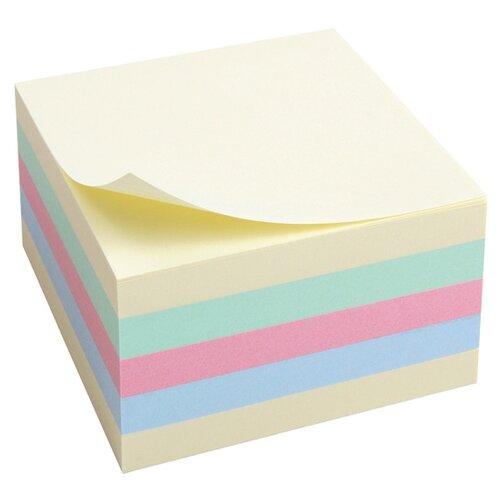 Купить Axent блок бумаги (2324-00-A) желтый/голубой/розовый/зеленый, Бумага для заметок