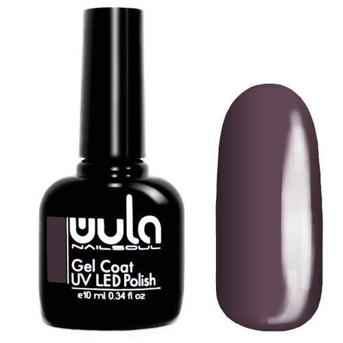 Гель-лак для ногтей WULA Gel Coat, 10 мл, оттенок 317 серо-фиолетовый гель лак для ногтей wula gel coat 10 мл оттенок 367 серо зеленый
