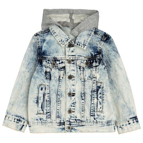 Купить Куртка Gulliver 12005BMC4201 размер 128, голубой, Куртки и пуховики