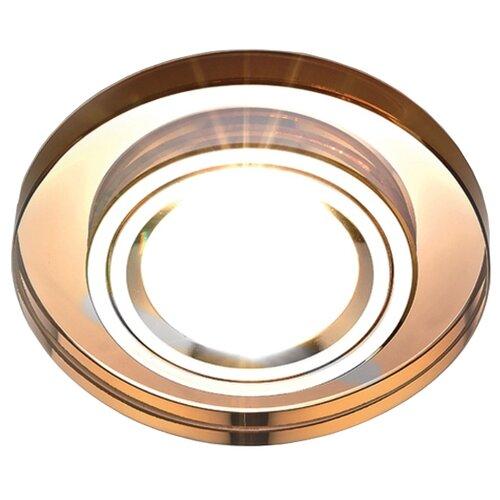 Встраиваемый светильник Ambrella light 8060 BR, коричневый