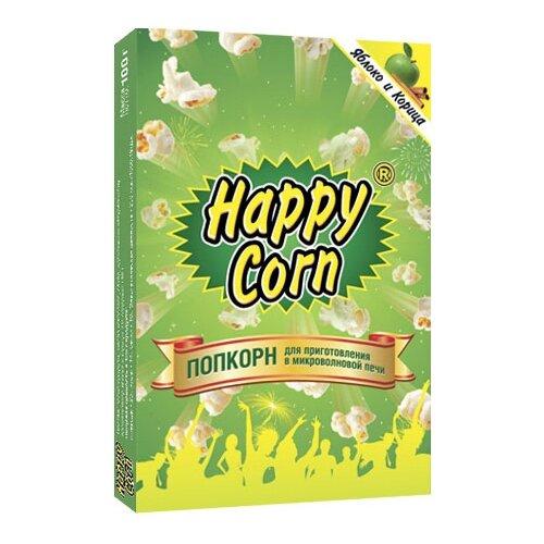 Попкорн Happy Corn Яблоко и корица в коробке в зернах, 100 гПопкорн<br>