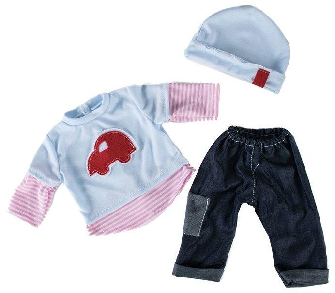 Loko Toys Одежда для куклы мальчика Baby Pink 98240