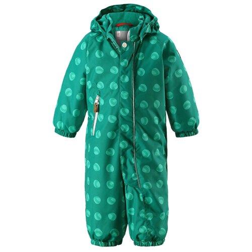 комбинезон детский reima reimatec otsamo цвет синий зеленый 520214c6983 размер 134 Комбинезон Reima Puhuri 510262 размер 74, зеленый с принтом