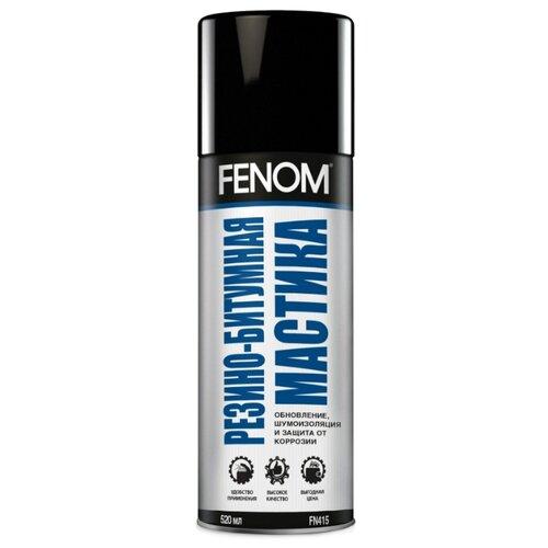 Антикор FENOM FN415 0.52 л баллончик черный