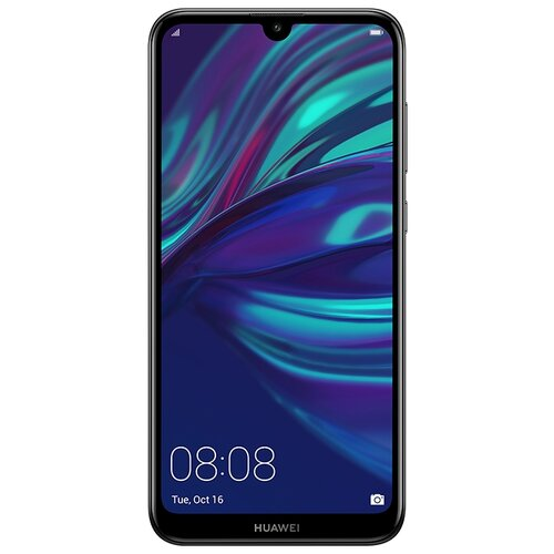 Смартфон HUAWEI Y7 (2019) полночный черный смартфон