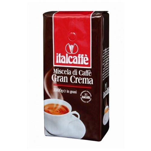 Кофе в зернах Italcaffe Gran Crema, арабика/робуста, 1000 г