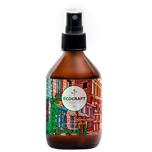 EcoCraft мицеллярная цветочная вода Французский шелк, 100 мл