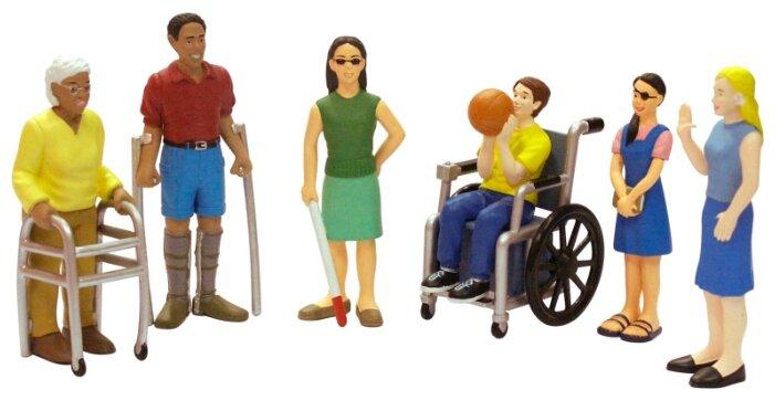 Фигурки Miniland Люди с ограниченными возможностями 27389