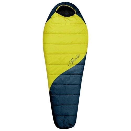 Спальный мешок TRIMM Balance 185 lemon/lagoon с левой стороны