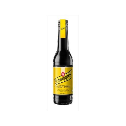 Тоник Schweppes Indian Tonic, 0.275 л schweppes индиан тоник напиток сильногазированный 1 5 л